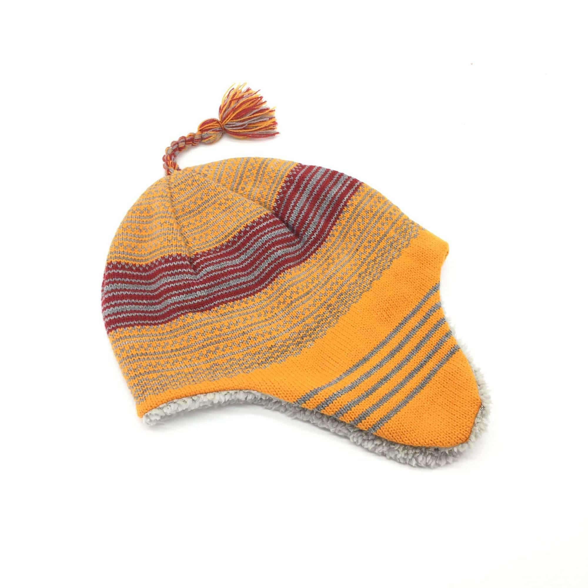 winter cap with ear flaps